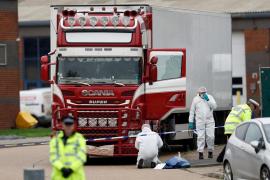 Los 39 muertos encontrados en un camión frigorífico eran todos vietnamitas