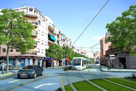 El Govern incluye el tranvía y la línea de tren a Llucmajor en las cuentas de 2020