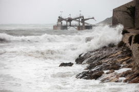 Aemet prevé para hoy fuertes lluvias y fenómenos costeros en Ibiza y Formentera