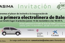ASIMA inaugurará la primera electrolinera de Baleares