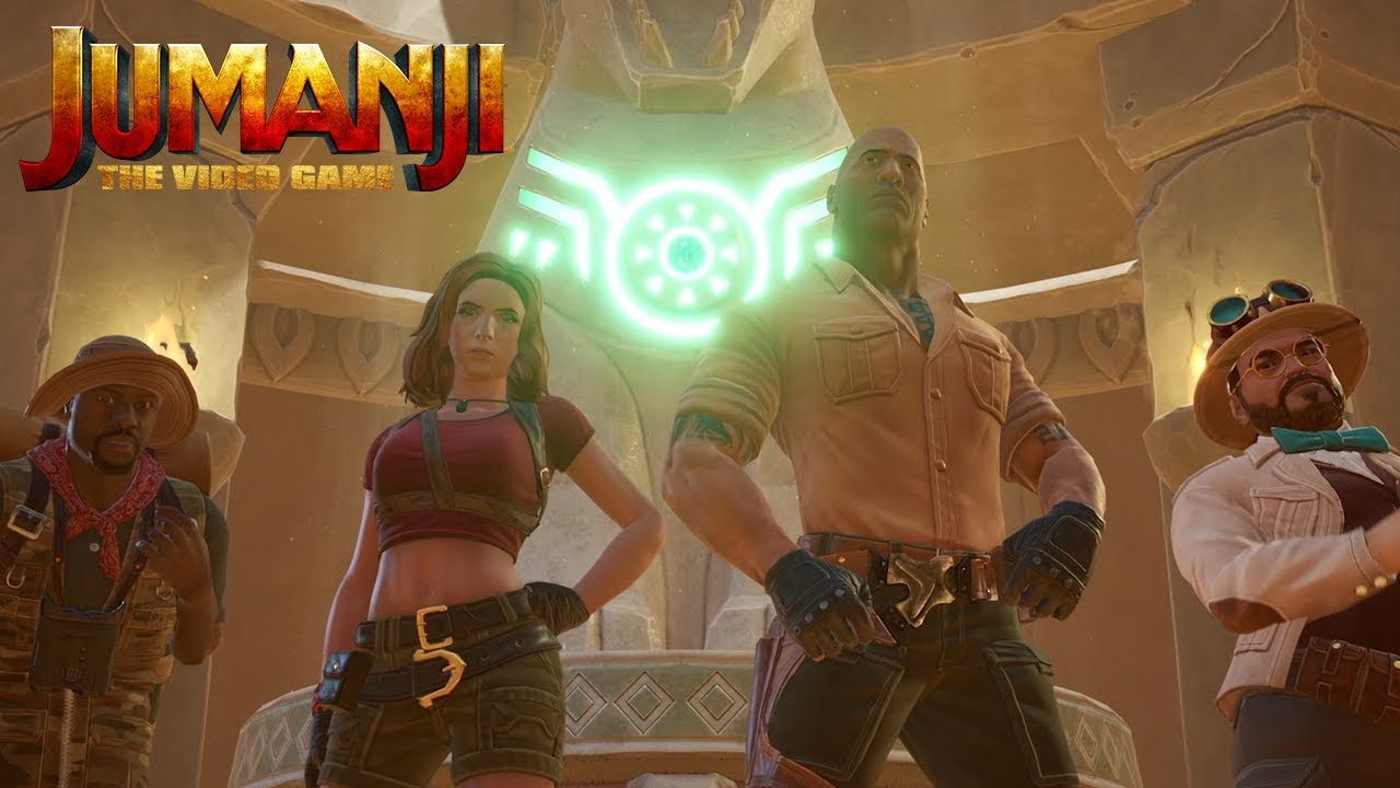 Jumanji: el videojuego ya está disponible
