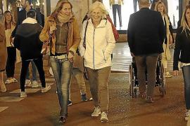 El frente frío deja una bajada de temperaturas de entre 4 y 5 grados en Mallorca