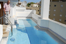 La limitación de piscinas en las azoteas de Palma enfrenta a los vecinos con los promotores