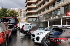 Alarma por un incendio intencionado en un local de Palma