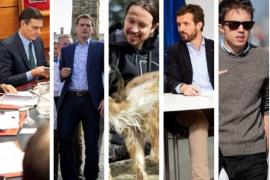 Los políticos entre el trabajo y el ocio en la jornada de reflexión