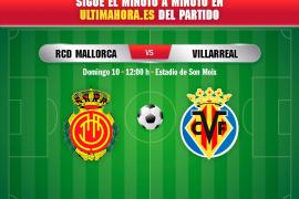 Así ha sido el Real Mallorca-Villarreal