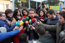 Iglesias, tras votar: «Vamos a tender la mano al PSOE»