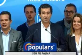 El PP asegura que «el votante ha castigado la mala gestión del PSOE»