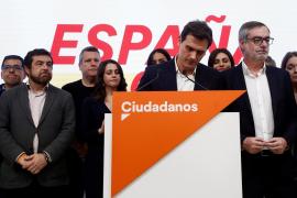 Rivera (Cs): «Los españoles han querido más Sánchez, pero también más Vox»