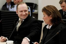 Breivik dice que actuó inspirado por la «bondad» en los atentados   de Noruega
