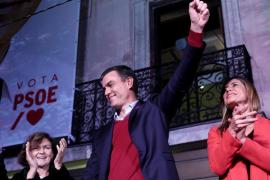 El PSOE gana, pero pierde fuelle