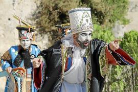 PALMA - Representación de L¿ Adoració dels Tres Reis d¿Orient, en Ses Voltes