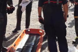Rescate de una chica que cayó a un pozo mientras hacía fotos