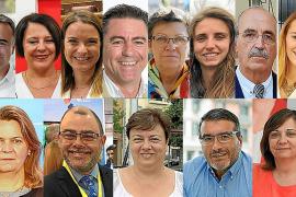 Estos son los diputados y senadores de Baleares