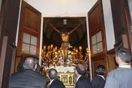 Un turno de costaleras portará por primera vez la imagen del Sant Crist en Inca