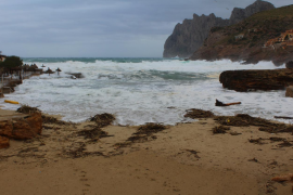 La 'Borrasca Bernardo' causa 35 incidentes en Mallorca y Menorca