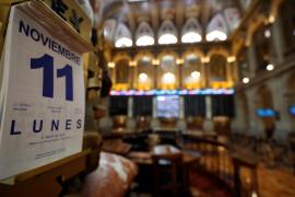 La Bolsa baja tras las elecciones del 10N