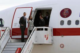 Los reyes inician su viaje de Estado a Cuba