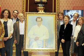 El Consell de Mallorca presenta el retrato de Eaktay Ahn