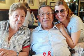 Paco Frau celebra su 82 cumpleaños