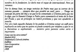 El abogado de Torres 'amenaza' con hacer públicos más e-mails de Urdangarin