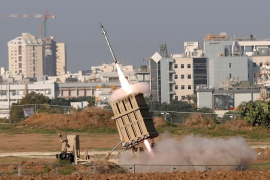 Lanzan desde Gaza decenas de cohetes como respuesta a la muerte del líder de Yihad Islámica