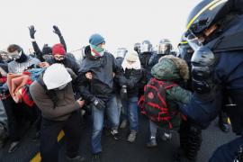 Mossos y Guardia Civil abren diligencias en La Jonquera por alterar el orden público