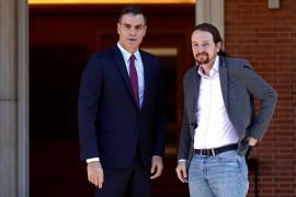 Sánchez e Iglesias ultiman un Gobierno con Iglesias de vicepresidente