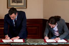 Estos son los puntos clave del acuerdo de PSOE y Unidas Podemos