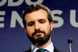 El PP revela que Casado contactó con Sánchez sin recibir respuesta y admite su 'cabreo' con el líder del PSOE