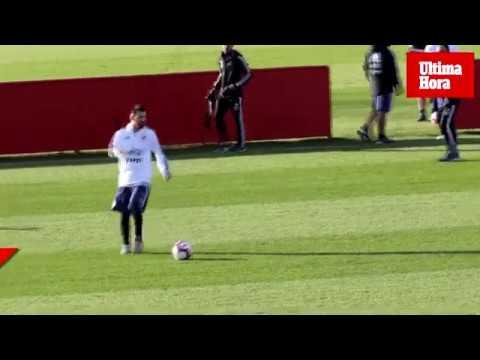 Messi ya entrena en Palma
