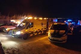 Rescate de un padre y su hijo precipitados en un acantilado en Ibiza