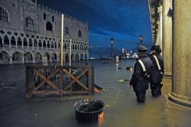 Noche de pesadilla en Venecia por la peor inundación en décadas