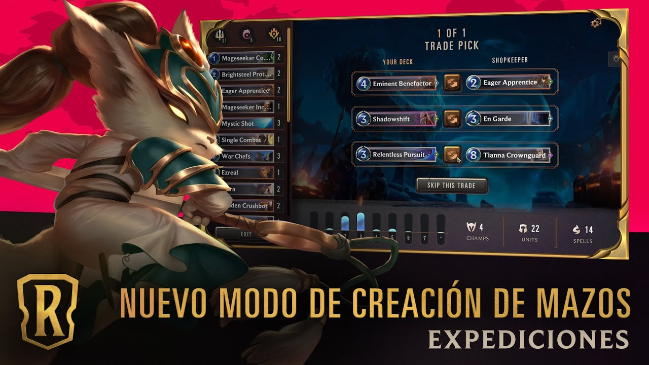 Legends of Runeterra presenta el modo Expediciones