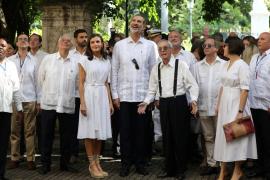 Felipe VI apoya a los empresarios españoles en Cuba ante sus «dificultades»