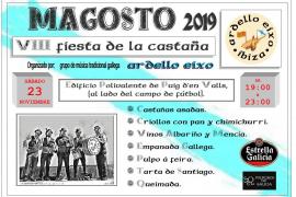 Llega la VIII Edición de la Fiesta de la Castaña en Ibiza