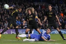 El Barcelona se estrella contra un Chelsea liderado por Drogba (1-0)