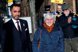 La justicia escocesa deja en libertad provisional a Clara Ponsatí
