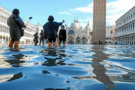 El cambio climático en la inundación de Venecia visto desde Baleares