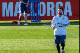 Concentración de la selección argentina en Mallorca