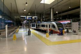 Destinan 3,7 millones de euros al mantenimiento de servicios del tren en Mallorca