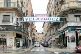 Las obras para peatonalizar la calle Velázquez de Palma acaban en diciembre