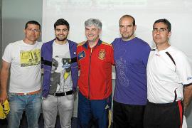 Gran fiesta del fútbol sala en Palma Aquárium