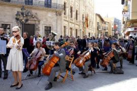 La Simfònica ofrecerá el sábado un concierto protesta multitudinario en la plaza Mayor de Palma