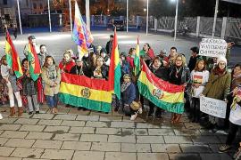 Concentración de bolivianos en Palma