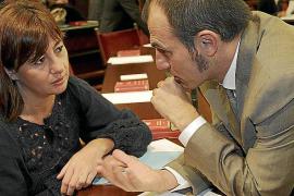 . PLENO EN EL PARLAMENT BALEAR PARA TRATAR LOS PRESUPUESTOS DE LA COMUNITAT AUTONOMA 2012.
