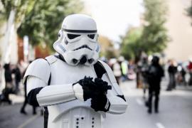 El desfile en Ibiza de los personajes de Star Wars, en imágenes (Fotos: Daniel Espinosa).