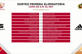El Álamo - Mallorca, en la primera eliminatoria de la Copa del Rey