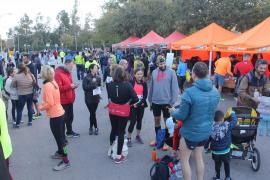 Más de 1.300 corredores se citan en la carrera Bombers de Mallorca