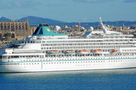 El crucero de lujo 'Amera', en Palma por primera vez